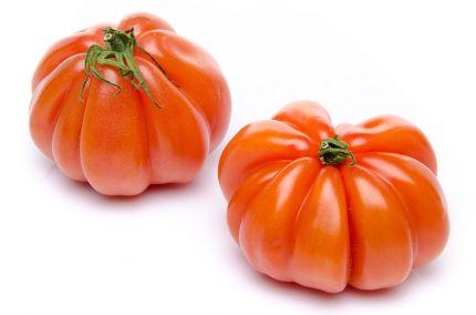 Tomate ancienne cœur de bœuf aumonière
